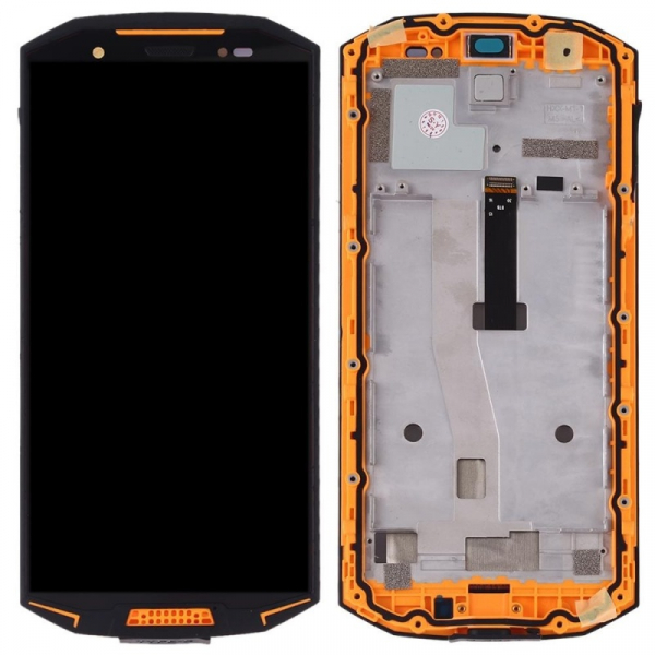 Display OGS original Doogee S70 S70 Lite cu rama Orange imagine