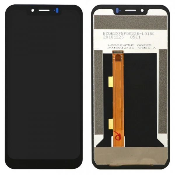 Display OGS original Ulefone Armor 6 6E Negru imagine