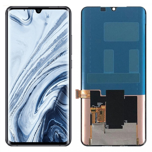 Display OGS original Xiaomi Mi Note 10 Pro Negru imagine