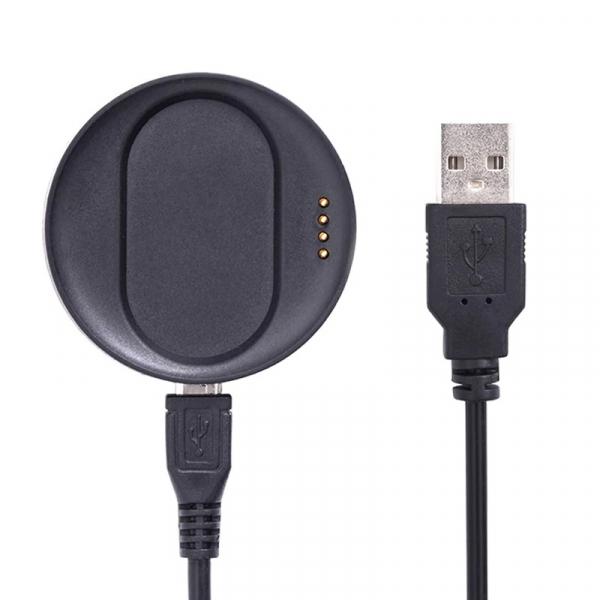 Dock de incarcare original cu cablu USB pentru smartwatch Kospet Optimus Optimus Pro Negru imagine