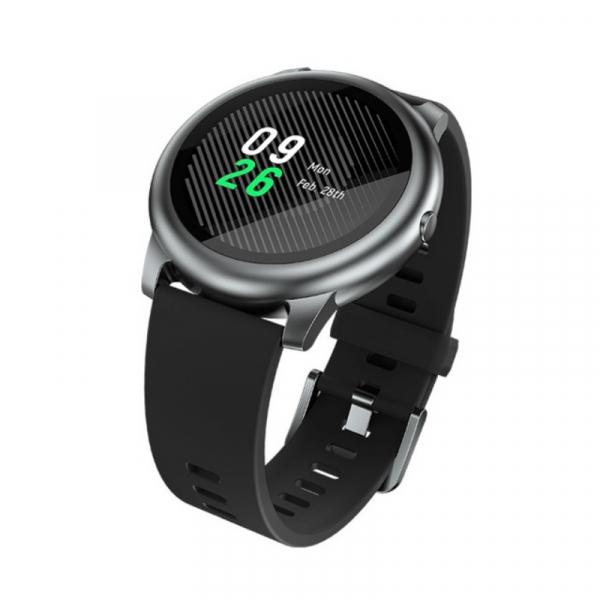 Smartwatch Xiaomi Haylou Solar LS05, TFT 1.28 , Multi-sport, Bluetooth v5.0, IP68, 340mAh, Global, Negru imagine