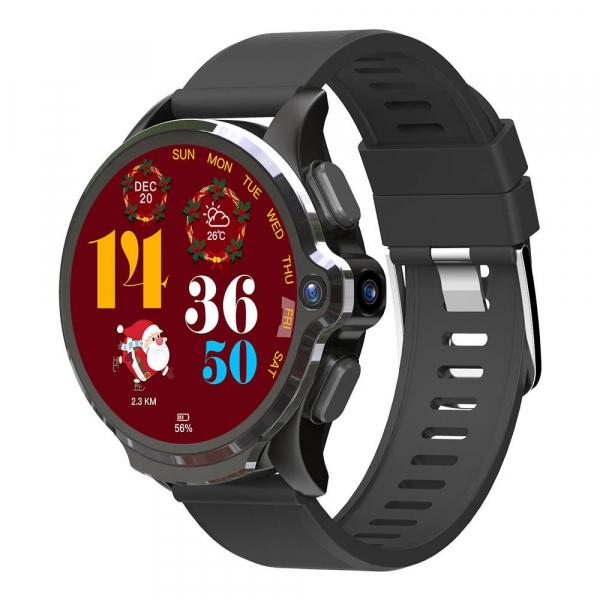 Smartwatch Kospet Prime SE, 4G, IPS Super Retina 1.6inch, 1GB RAM, 16GB ROM, MTK6739, Android 7.1.1, Waterproof IP67, Face ID, 1260mAh imagine