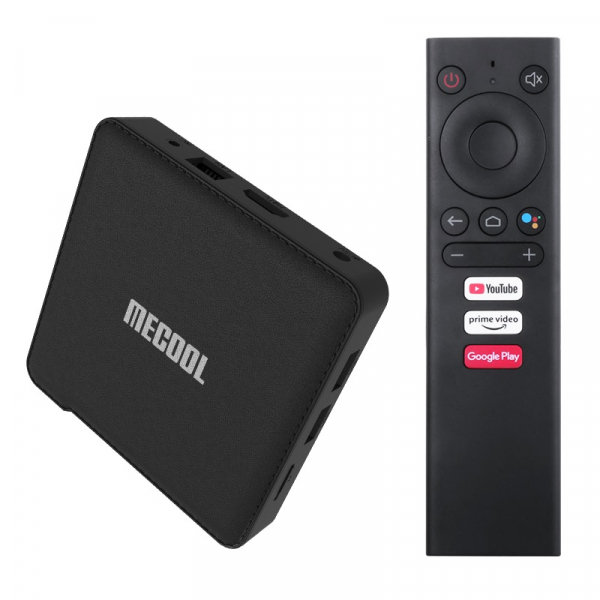 TV Box MECOOL KM1, 4K, Android 9.0, 2GB RAM, 16GB ROM, S905X3 QuadCore, USB 3.0, HDR10+, Wi-Fi 2T2R, Bluetooth, Chromecast, Slot card imagine