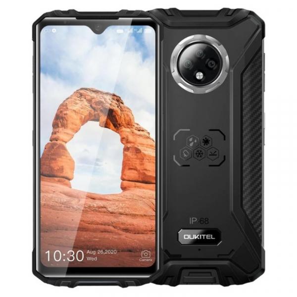 Telefon mobil Oukitel WP8 Pro, 4G, IPS 6.49 Waterdrop, 4GB RAM, 64GB ROM, MediaTek MT6762D OctaCore, NFC, 5000mAh, Dual SIM, Negru imagine