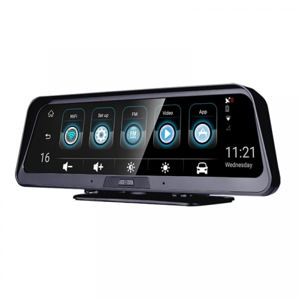 Navigator pentru bord Star Senatel Q98 DVR, 4G, IPS 10 , 2GB RAM, 32GB ROM, Android 8.1, GPS, ADAS, Wifi, Night Vision, Monitorizare 24 24 imagine