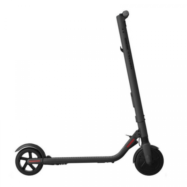 Trotineta electrica pliabila Ninebot Segway Kickscooter ES2, IP54, 300w, 25Km h, 25Km, Aplicatie mobil, Lumini, Global, Gri imagine