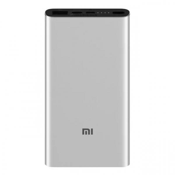 Acumulator extern Xiaomi Mi Power Bank 3 silver imagine