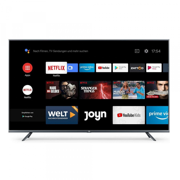 Smart TV Xiaomi Mi TV 4S 55 , 4K, Netflix, Android 9.0, 2GB RAM, 8GB ROM, Wifi, Bluetooth, EU imagine