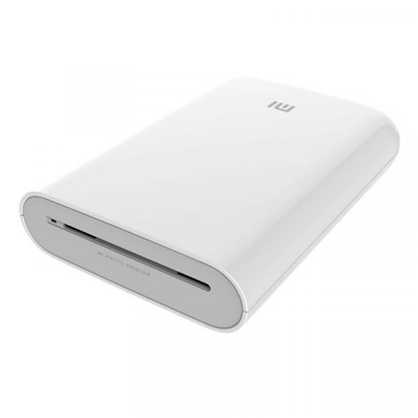 Imprimanta foto termica portabila Xiaomi Pocket Photo Printer, Hartie sticker de 3 , AR Foto, Conexiune multipla, Bluetooth v5.0, Alb imagine