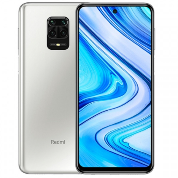 Telefon mobil Xiaomi Redmi Note 9S, 4G, IPS 6.67inch, 4GB RAM, 64GB ROM, Android 10, Snapdragon 720G OctaCore, 5020mAh, Global, Alb imagine