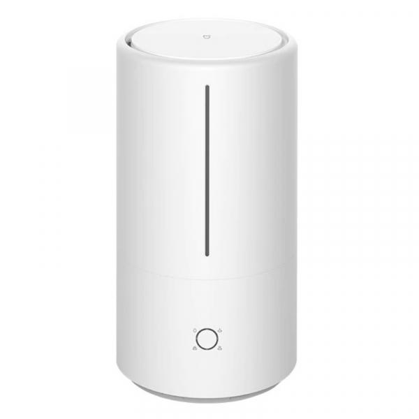 Umidificator de aer cu sterilizator UV-C Xiaomi Mi Smart Antibacterial Humidifier, 4.5L, 300ml h, Wi-Fi, Alb imagine