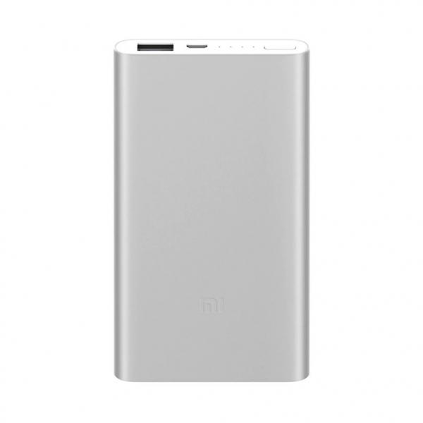 Acumulator extern Xiaomi Mi Power Bank 2, 5000mAh, Micro-USB, USB-A, Incarcare rapida, Incarcare la putere mica imagine