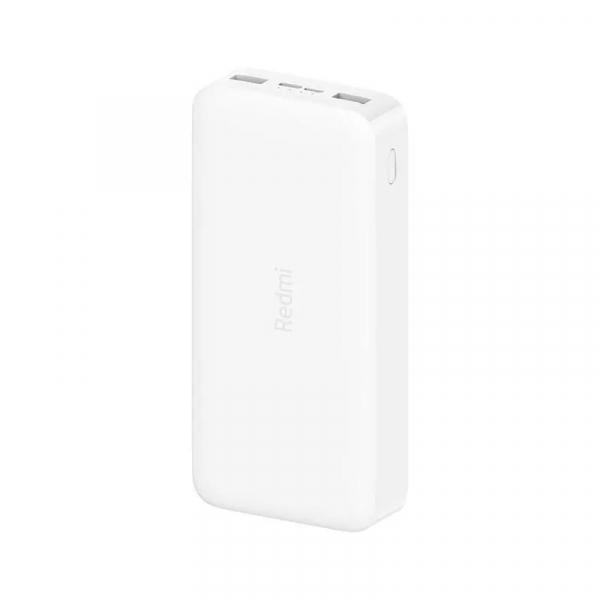 Acumulator extern Xiaomi Redmi Power Bank, 20000mAh, Micro-USB, USB Type-C, Dual USB, Incarcare rapida, Incarcare la putere mica imagine