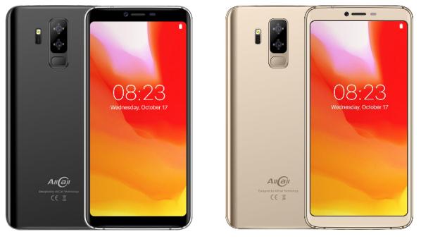 Telefon mobil Allcall S5500, 3G, IPS 5.99inch, Android 8.1, MTK6580M QuadCore, 2GB RAM, 16GB ROM, 5500mAh, Dual SIM imagine