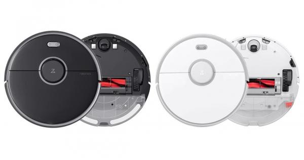 Aspirator robot Xiaomi Roborock S5 Max, Control Aplicatie, Rezervor apa, Mop, Zone dedicate No-Mop, 5200mAh imagine