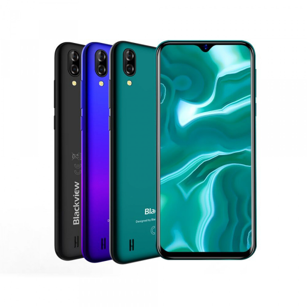 Telefon mobil Blackview A60, IPS 6.1inch, 1GB RAM, 16GB ROM, Android 8.1, MediaTek MT6580A, ARM Mali-400 MP2, 4080mAh, QuadCore, Dual SIM imagine