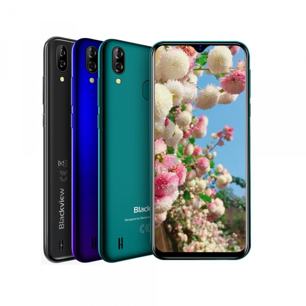 Telefon mobil Blackview A60 Pro, MTK6761 Quad Core, Android 9.0, 4080mAh, 3GB RAM, 16GB ROM, 6.09 inch Waterdrop Screen, Face ID, 4G imagine