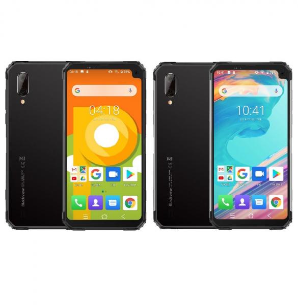 Telefon mobil Blackview BV6100, IPS 6.88inch, 3GB RAM, 16GB ROM, Android 9.0, Helio A22, PowerVR GE8300, Quad Core, 5580mAh, Dual Sim imagine