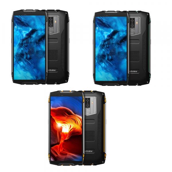 Telefon mobil Blackview BV6800 Pro, IPS 5.7inch, Waterproof IP68, MT6750T OctaCore, 4GB RAM, 64GB ROM, 6580mAh, Incarcare wireless, NFC imagine