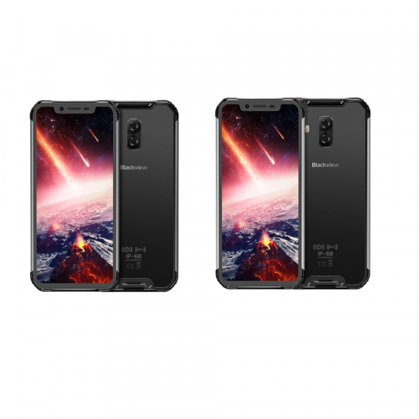 Telefon mobil Blackview BV9600 Pro, AMOLED 6.21inch, Android 9.0, 6GB RAM, 128GB ROM, OctaCore, NFC, Waterproof imagine