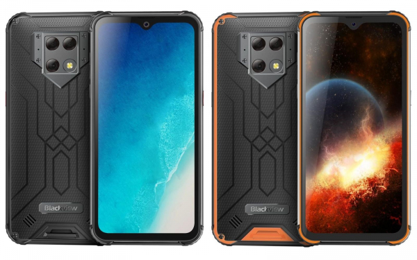 Telefon mobil Blackview BV9800, IPS 6.3inch, 6GB RAM, 128GB ROM, Android 9.0, Helio P70, Mali-G72 MP3, Dual SIM, Octa Core, 6580mAh imagine