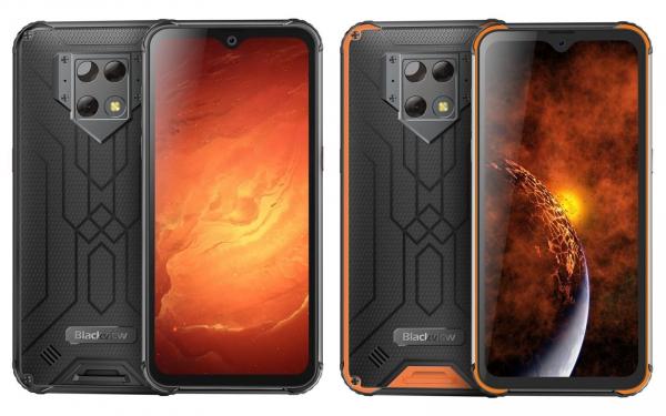 Telefon mobil Blackview BV9800 Pro, Android 9.0, 6GB RAM, 128GB ROM, 6.3 IPS, Helio P70, Octa Core, NFC, Camera termica, 6580mAh imagine