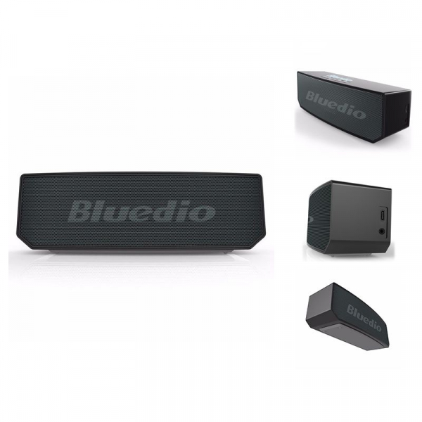 Boxa Portabila Wireless Bluedio BS-6 Stereo, Bluetooth, Cloud Service, Smart Control, Control Vocal, Raspuns Apeluri imagine