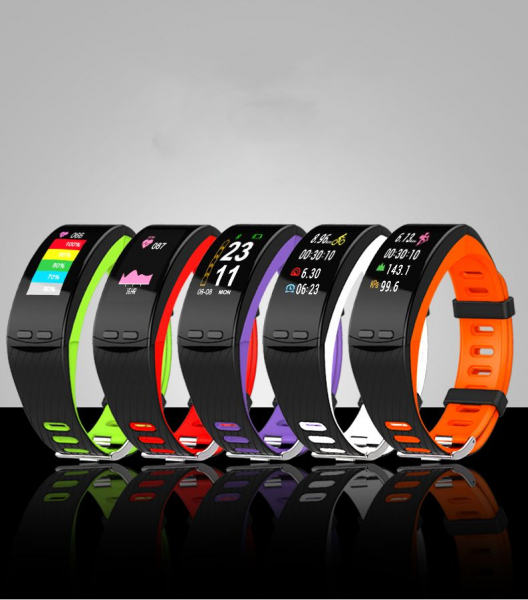 Bratara fitness Smartband P5 Plus cu GPS integrat imagine