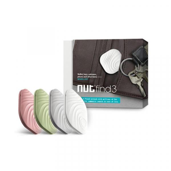 Breloc Nut Find 3 Smart Tracker Set 4 buc, Anti Pierdere, Alarma, Sistem de Urmarire, Bluetooth - Dual Store imagine