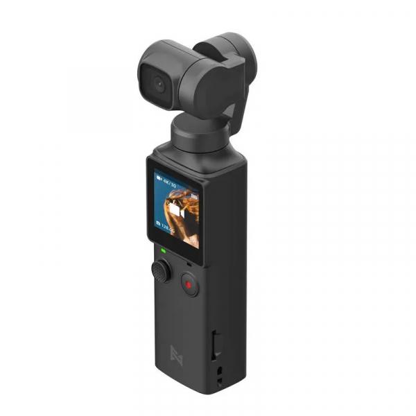 Camera video de buzunar Xiaomi FIMI PALM Gimbal Camera, 4K, Stabilizator pe 3 axe, Touchscreen 1.22inch, Wi-Fi, Bluetooth, 1000mAh, Negru imagine