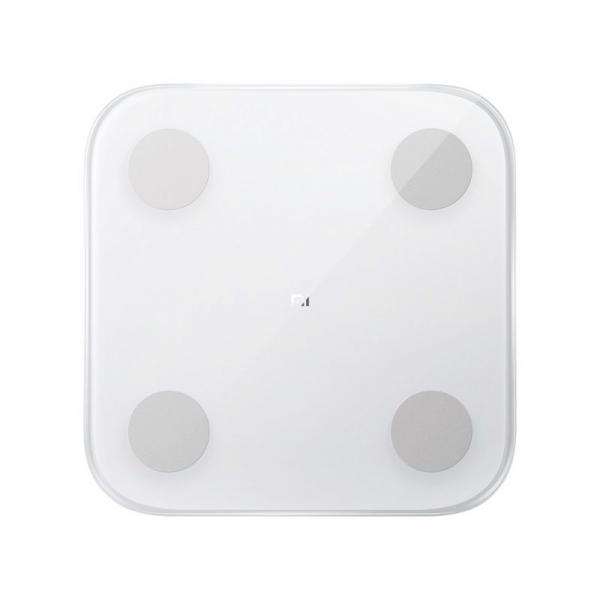 Cantar smart Xiaomi Mi Body Composition 2, Ultra-subtire, Ecran LED ascuns, Masurare 13 date corporale, Bluetooth imagine