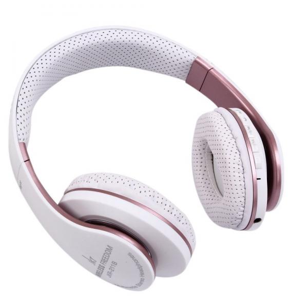 Casti Bluetooth cu microfon JKR 211B, Wireless, Radio FM, Micro SD imagine