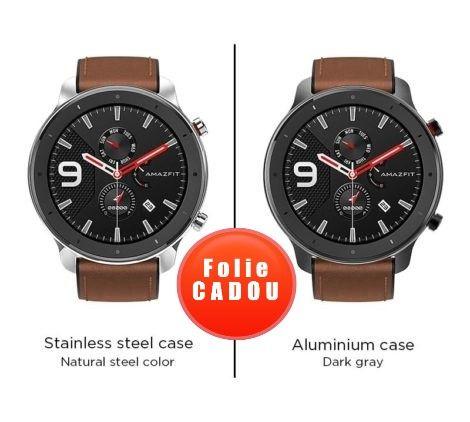 Smartwatch Xiaomi Huami Amazfit GTR, 1.39inch, 47mm, AMOLED, GPS, Waterproof 5ATM, Bluetooth 5.0, 410 mAh imagine