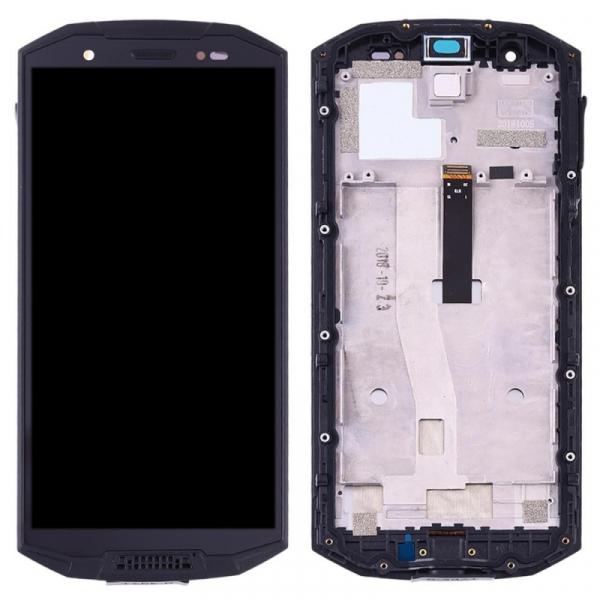 Display OGS original pentru Doogee S70 S70 Lite cu rama Negru imagine