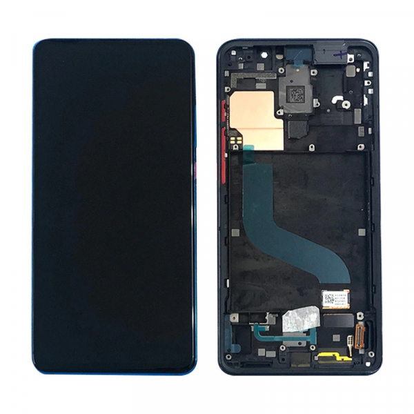Display OGS cu rama Xiaomi Mi 9T Mi 9T Pro Redmi K20 Redmi K20 Pro Negru imagine