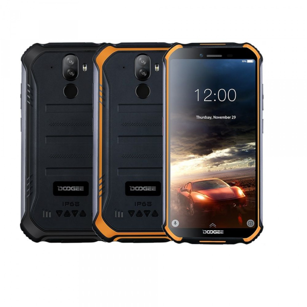Telefon mobil Doogee S40 Pro, 4G, IPS 5.5inch, 3GB RAM, 32GB ROM, MT6739 QuadCore, Android 9.0, Waterproof, 4650mAh, Dual SIM imagine