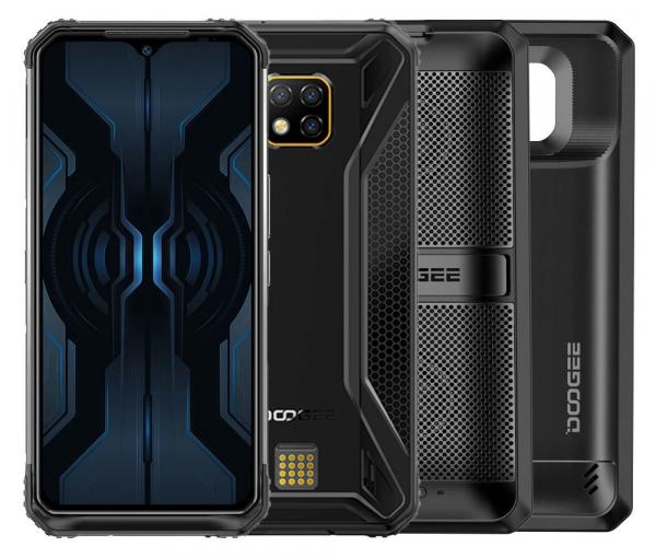 Pachet telefon mobil + 2 module Doogee S95 Pro Super, IPS 6.3 inch, 8GB RAM, 256GB ROM, Android 9.0, Helio P90 Octa Core, 5150 mAh, Dual SIM imagine