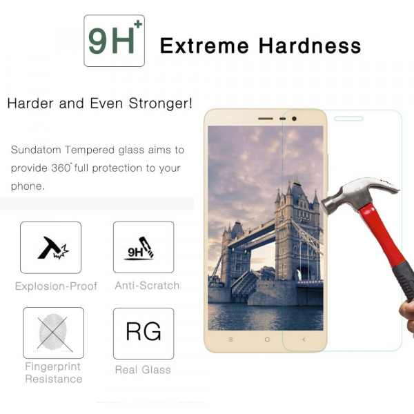 Folie de protectie din sticla pentru Xiaomi Redmi Note 4 tempered glass imagine