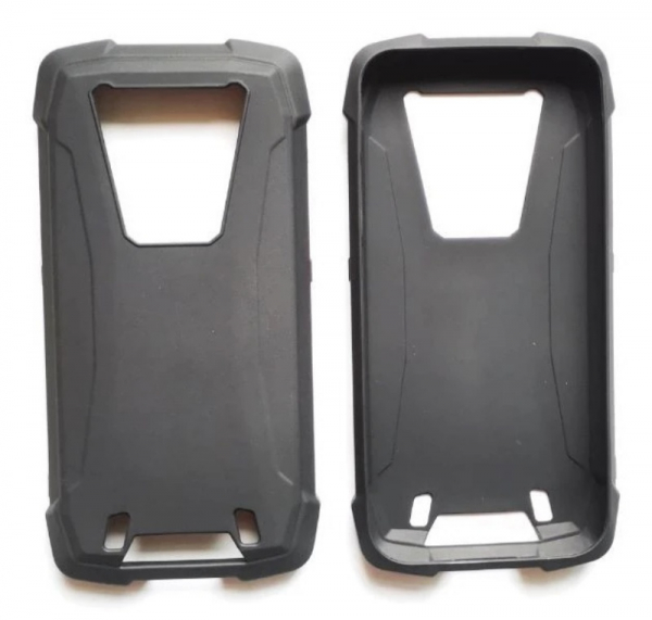 Husa neagra din silicon pentru Blackview BV6900 imagine