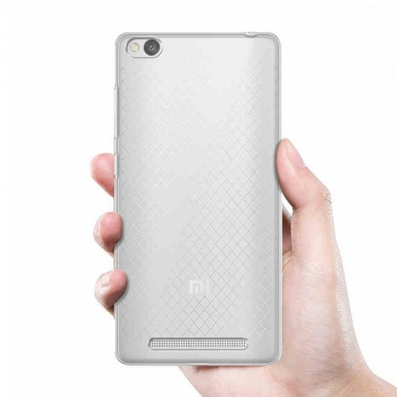Husa din silicon transparent pentru Xiaomi Redmi 3 imagine