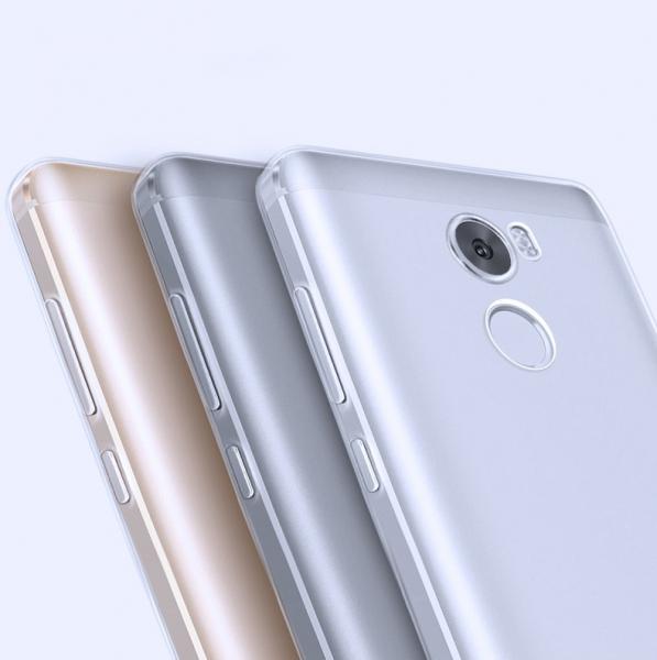 Husa din silicon transparenta pentru Xiaomi Redmi 4 imagine