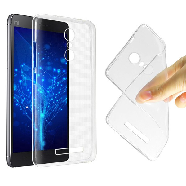 Husa din silicon transparent pentru Xiaomi Redmi Note 3 Note 3 Pro imagine