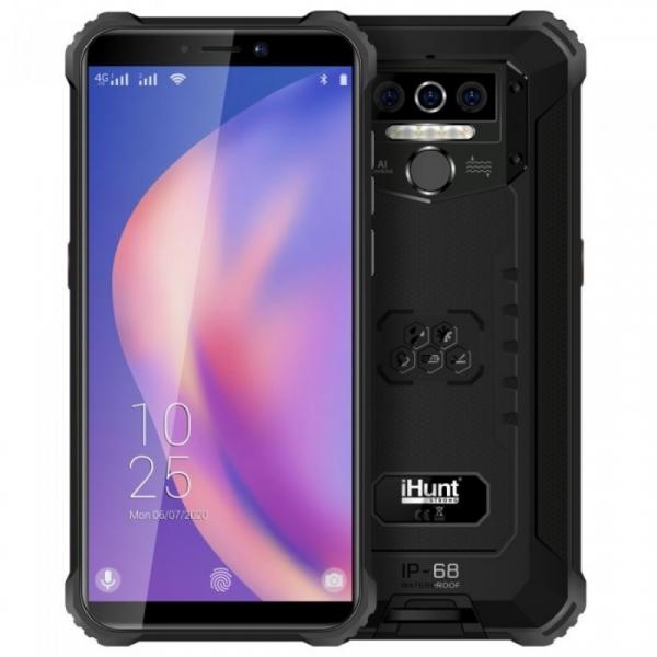 Telefon mobil iHunt Titan P8000 Pro 2021, 4G, IPS 5.5 , 4GB RAM, 32GB ROM, Android 10, MediaTek 6761D QuadCore, 8000mAh, Dual SIM, Negru imagine