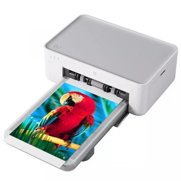 Imprimanta Xiaomi Mijia AirPrint, 6 inch, Wireless, Bluetooth, Auto-laminare, Tavita magnetica imagine