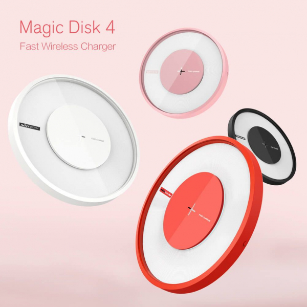 Incarcator wireless QI Magic Disk 4 Nillkin - DualStore imagine