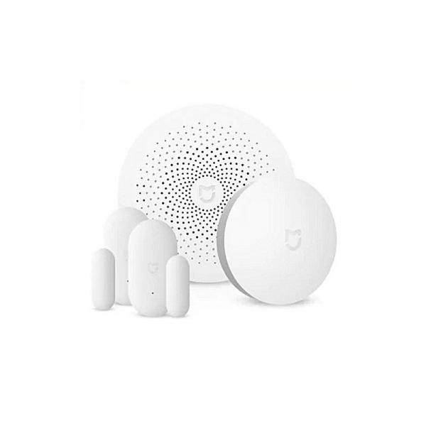 Kit inteligent de securitate pentru acasa Xiaomi Smart Home, Senzor miscare, Senzor Usa, Senzor Temperatura, Alarma imagine