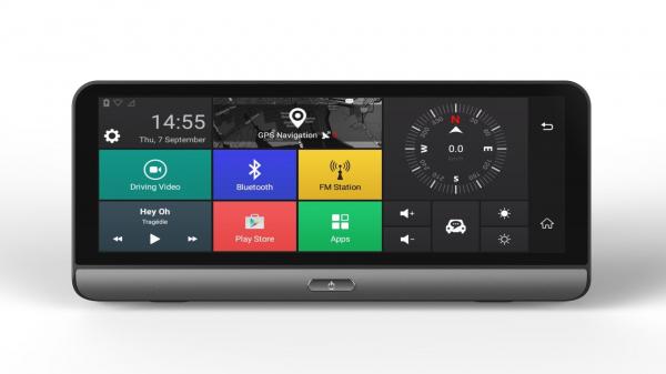 Navigator pentru bord Star E09 DVR 4G, Android 5.0, GPS, 8 inch, 1GB RAM 16GB ROM, Wifi, Bluetooth, Camera fata spate imagine