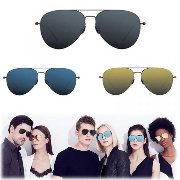 Ochelari de soare colorati polarizati Xiaomi Turok Steinhardt TS, Rame din otel inoxidabil, Protectie UV, Unisex imagine