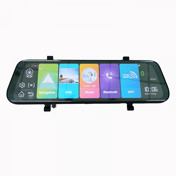 Oglinda retrovizoare DVR Star L06, slot sim 4G , 10inch HD, Android 8.1, Camera DVR Fata + Spate, Wireless, Bluetooth imagine
