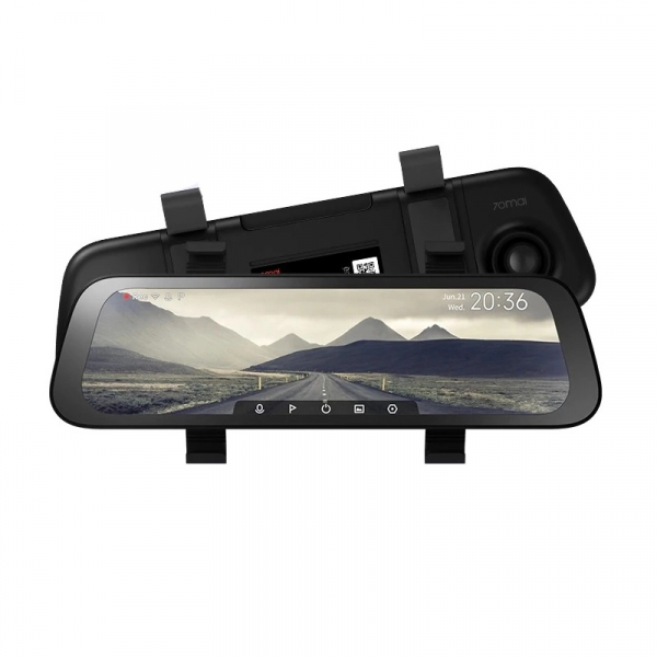 Oglinda retrovizoare smart Xiaomi 70MAI 2020 Rearview Dash Cam Wide D07 imagine